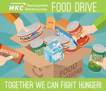 Employees Host Food Drive To Benefit Local Communities