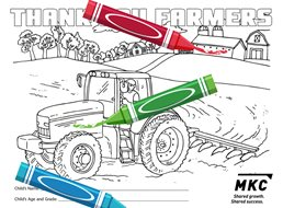 Accepting Entries for 2018 Co-op Month Coloring Contest